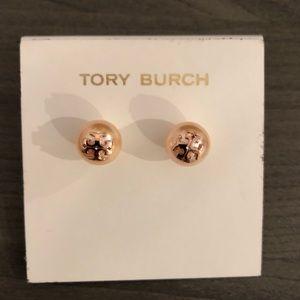 Tory Burch Pearl Studs